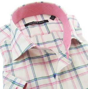 Hammermade Sz Large Button Down Casual Shirt NWT